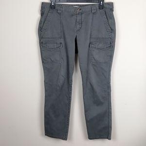 Loft Julie olive green cargo skinny pants